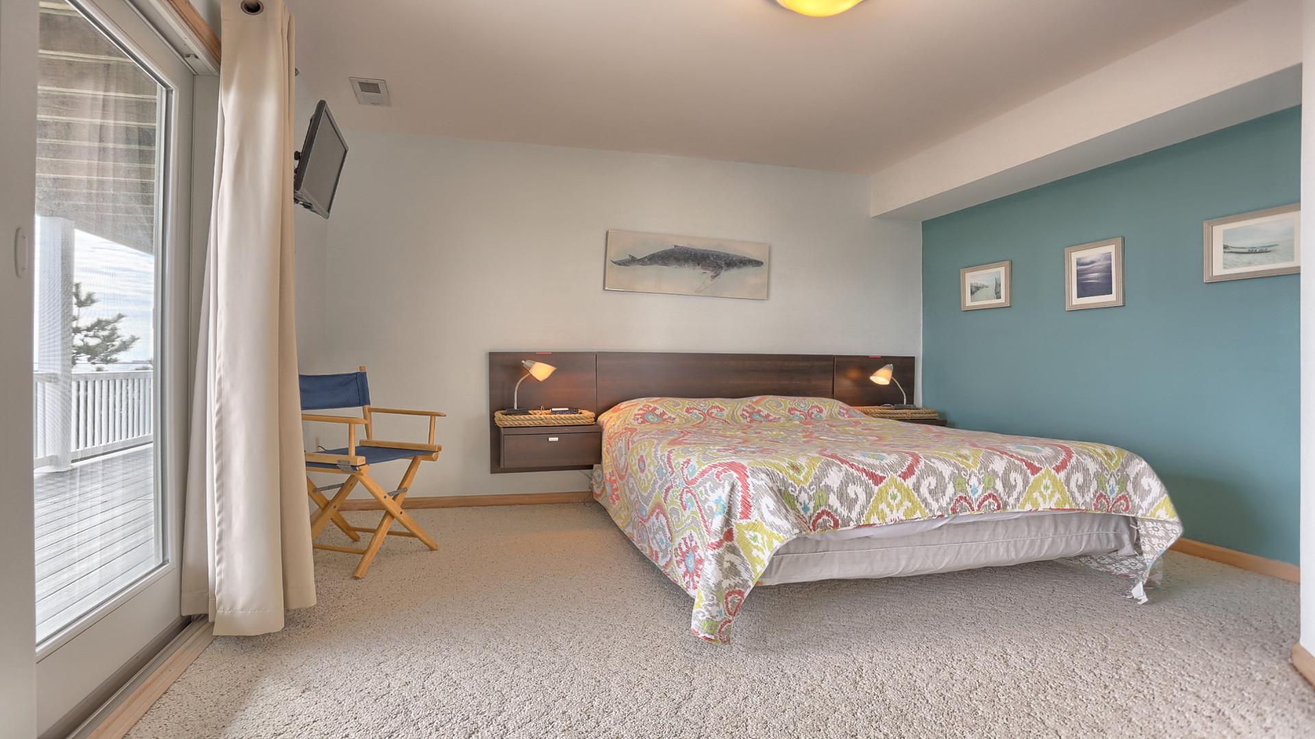 Whale Bedroom